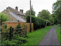 NZ1265 : Wylam Waggonway at Street Houses by Andrew Curtis