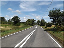 TL9568 : A1088 Stow Lane, Stowlangtoft by Adrian Cable