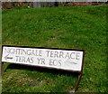 SO2701 : Bilingual name sign Nightingale Terrace/Teras yr Eos,  Pontnewynydd by Jaggery