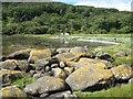 NR7576 : Erratic boulders by Jonathan Wilkins