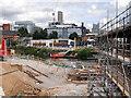 SJ8298 : Ordsall Chord Construction Site, September 2016 by David Dixon