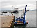 NH7068 : Port of Cromarty, Invergordon Quayside by David Dixon