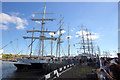 NZ3181 : Tall Ships at Blyth by Mark Anderson