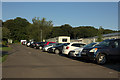 NZ2993 : Parked Cars, Cresswell Towers Holiday Park by Mark Anderson