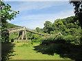 SO5414 : Footbridge  over  River  Wye by Martin Dawes