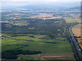 NS4566 : Bishopton and the Clyde from the air by Thomas Nugent