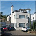 TQ1792 : Modernist house, Valencia Road, Stanmore - No. 4 by Julian Osley