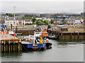 NH7068 : Harbour and Quayside at Invergordon by David Dixon