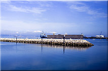 SY6874 : Portland Harbour and port by Oliver Mills