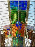 SE3033 : Stained glass roof, Leeds by Paul Harrop