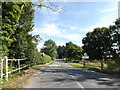TL9868 : Entering Badwell Ash on Hunston Road by Adrian Cable