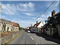 TL9868 : The Street, Badwell Ash by Adrian Cable