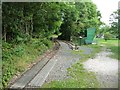 SC4385 : Great Laxey Mine Railway, Mines Yard [north] terminus by Christine Johnstone
