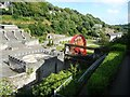 SC4384 : The site of the Great Laxey Mine's washing floors by Christine Johnstone