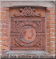 TG1001 : Queen Victoria Golden Jubilee plaque by Adrian S Pye