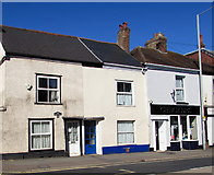 SX9091 : Houses and Checkers, St Thomas, Exeter by Jaggery