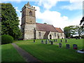 SO9655 : St John the Baptist, Grafton Flyford, Worcestershire by Jeff Gogarty