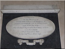 TG4919 : Holy Trinity and All Saints, Winterton on Sea: memorial (b) by Basher Eyre