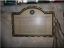 TG4919 : Holy Trinity and All Saints, Winterton on Sea: memorial (d) by Basher Eyre