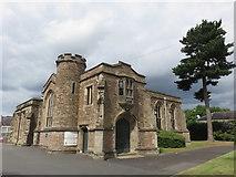 SO8276 : Former School Hall at King Charles I Grammar School, Kidderminster by Richard Rogerson
