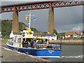 NT1380 : Forth Belle at the Town Pier, North Queensferry by M J Richardson
