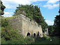NZ0236 : The Bishopley limekilns by Mike Quinn