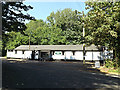 TM1495 : Woodland Club, Tacolneston by Adrian Cable