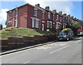 ST3089 : Brick houses, Barrack Hill, Newport by Jaggery