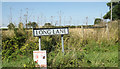 TM1089 : Long Lane sign by Adrian Cable