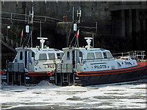 TA2711 : Humber pilots at Grimsby docks by Steve  Fareham