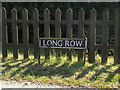 TM1088 : Long Row sign by Adrian Cable