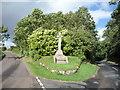 NT8637 : Carham Parish War Memorial by JThomas