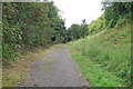 TM0341 : Hadleigh Railway Walk by Roger Jones