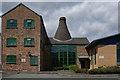 SJ8846 : Bottle Kilns at Wedgwood's Bullers Works, Hanley by Brian Deegan