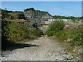 SK2754 : Track into Middle Peak Quarry by Christine Johnstone