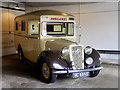 SP8633 : Austin 18 Ambulance at Bletchley Park Garage by David Dixon