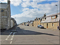 NJ2371 : Commerce Street, Lossiemouth by Richard Dorrell