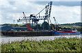 SE8514 : Cargo vessel docked at Flixborough Wharf by Mat Fascione