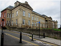 SJ8989 : Former Stockport Infirmary, Stockport by Jaggery