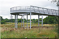 SX8376 : A38 cycleway by Alan Hunt