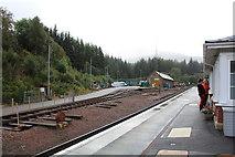NN3825 : The former locomotive depot at Crianlarich by Richard Hoare