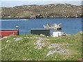 NB1533 : Boats at Iarsiadar by M J Richardson