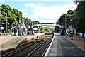 NN9358 : Pitlochry Station by Richard Hoare