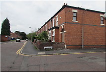 SJ8889 : Corner of Hardcastle Road and Caroline Street, Edgeley, Stockport by Jaggery