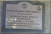 SO2459 : Douglas Frederick Duff Gordon by Bill Nicholls