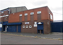 SJ8889 : Turnstiles 9 and 10, Edgeley Park, Stockport by Jaggery