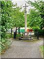 SP9066 : Little Irchester War Memorial by David Dixon