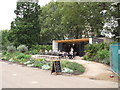 TQ2680 : Italian Gardens Cafe, Kensington Gardens by David Hawgood