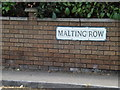 TL9174 : Malting Row sign by Adrian Cable