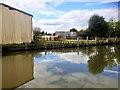 SP6260 : Grand Union Canal, Dodworth Wharf Farm by David Dixon